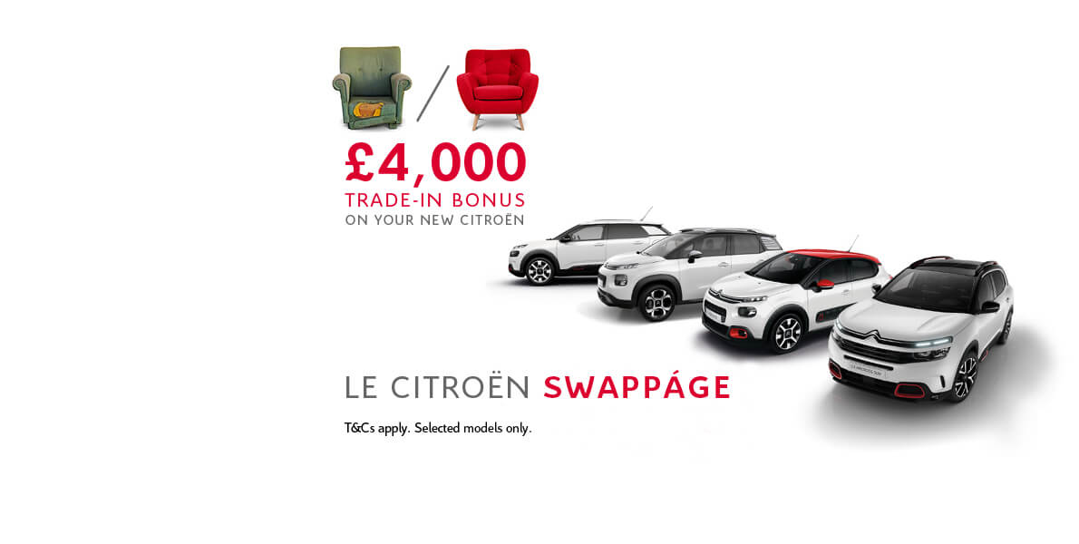 Citroën Swappage Offer