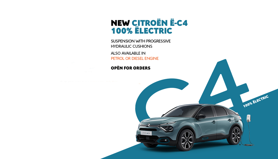 New Citroën C4 and e-C4